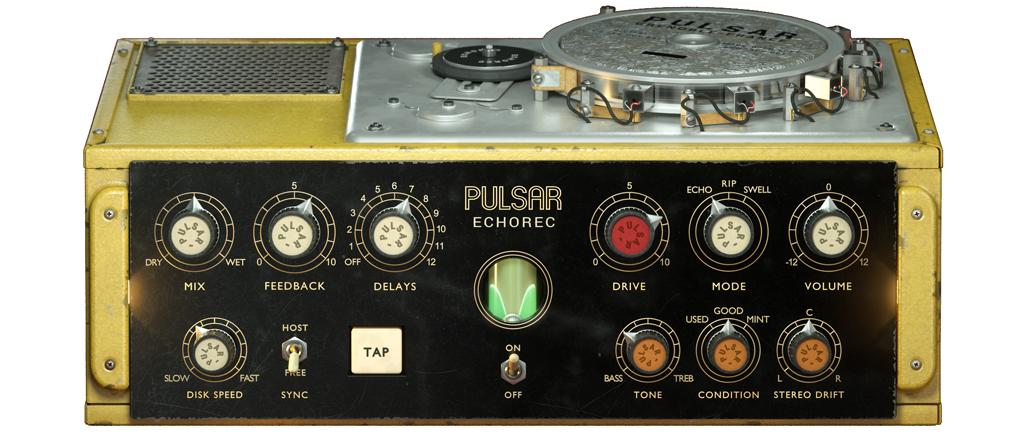 Pulsar Echorec: Enlarge your Delay