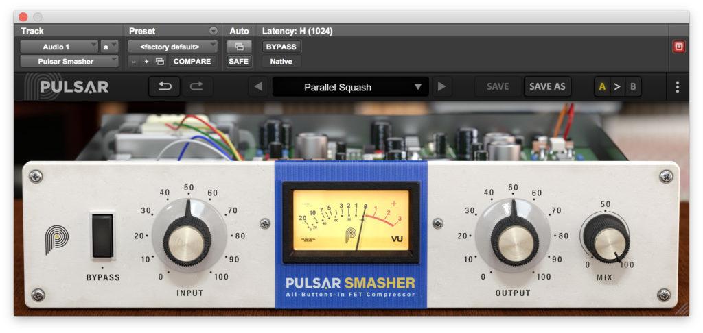 Screenshot of Pulsar Smasher