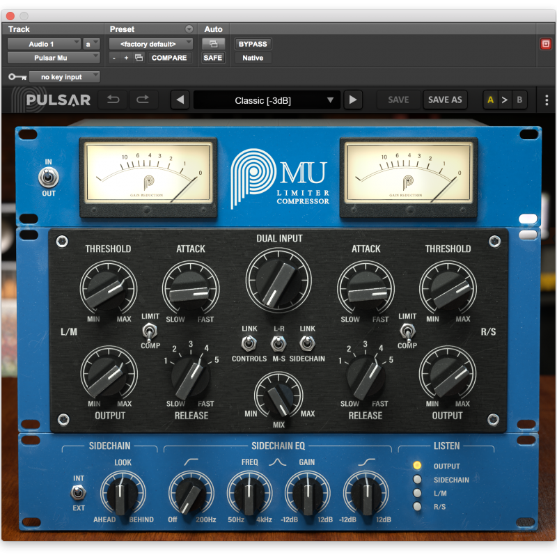 Screenshot of Pulsar Mu